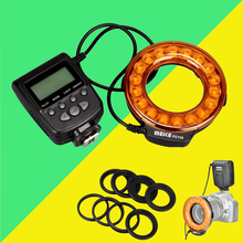 Meike FC110 FC-110 LED Macro Ring Flash Light pour Canon 6d 60d 5d mark iii Nikon d7100 d3100 d5300 d750 Olympus Panasonic Pentax