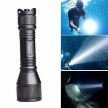 ORCATORCH D550 970LM Scuba Diving Flashlight LED Cree XM-L2(U4) Underwater Torch Light for Diving LED Submarine Flashlight