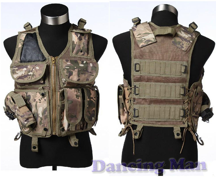 CCGK Tactical vest Utility Safety Black US navy seal modular load assault Military style CS Game Airsoft Combat hunting barbour hackamore vest navy