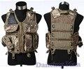 Carga chaleco táctico modular de Seguridad Utility Negro EE. UU. navy seal swat policía caza de Airsoft Combat asalto Militar pistola pistolera