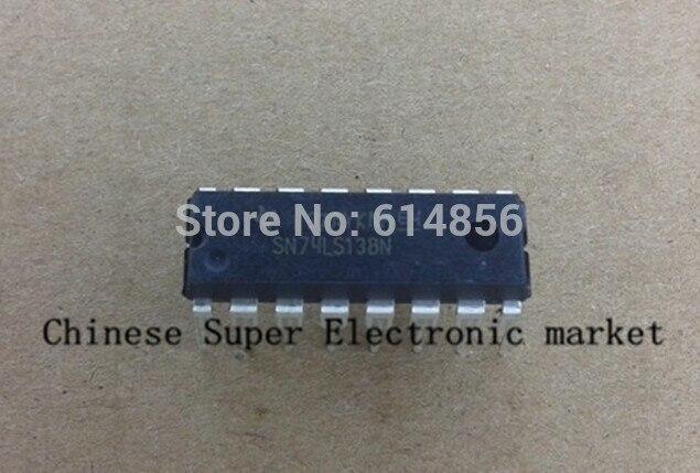 10PCS SN74LS138N SN74LS138 74LS138 DIP-16 decoder IC