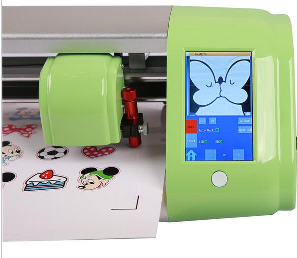 2017 new Automatic Contour Cutting Plotter Vinyl Cutter with CE 24 inch 720mm