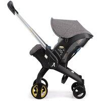 Детские коляски 4 в 1 для новорожденных люльки, колыбели Тип безопасности детского сиденья корзина коляски детское автомобильное путешеств
