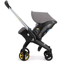 Baby Stroller 4 In 1 Newborn Baby Bassinet Cradle Type Child Safety Seat Baby Carriage Basket Baby Car Travel System 3 In 1