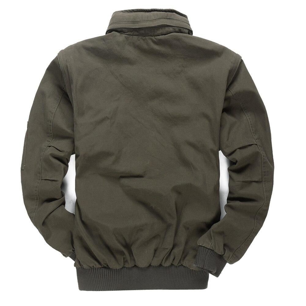 Nouveau militaire hommes 101 vol vestes à capuche amovible manches mâle décontracté veste manteau hommes marque outillage veste vêtements 4XL BF657 - 2