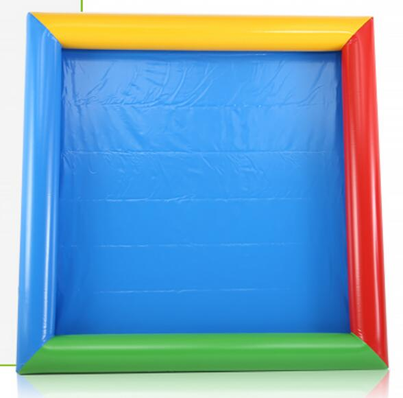 4m 5m high quality PVC sand pool Children play entertainment Inflatable pool