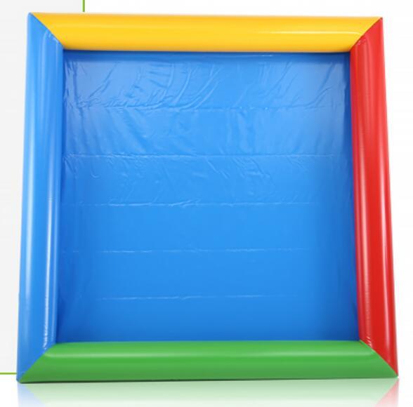Piscine gonflable de divertissement d'enfants de piscine de sable de PVC de haute qualité de 4 m * 5 m