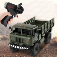 2.4G Remote Control Toy Car 1:16 Military Truck Toy Car Four Wheel Drive Climbing Remote Control Off Road Vehicle Truck Model RC