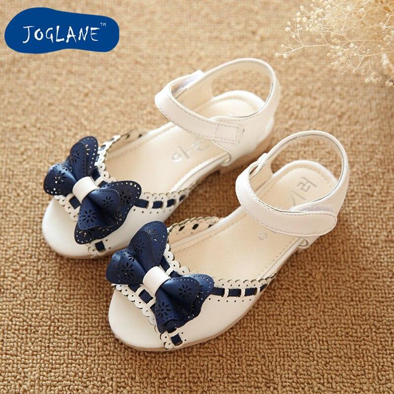 Girl Open Toe Sandals 2019 new children sandals summer kids sandlas cute  buttery tie design princess shoes girls Bowtie shoes f7361a53f3c3