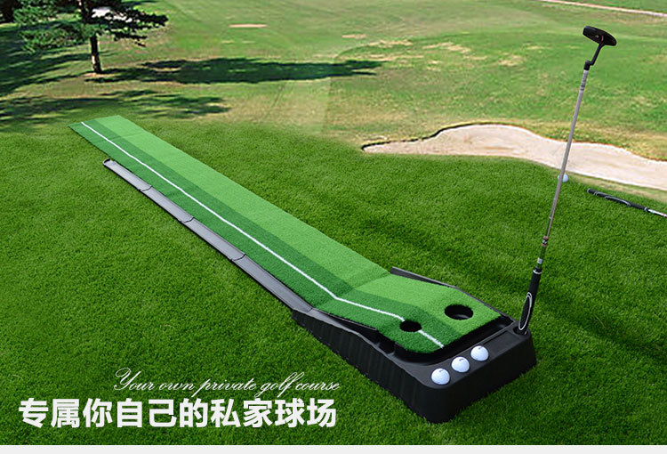 ФОТО Indoor family Golf putter trainers, Golf practice carpet indoor putting trainer golf exercise mat set
