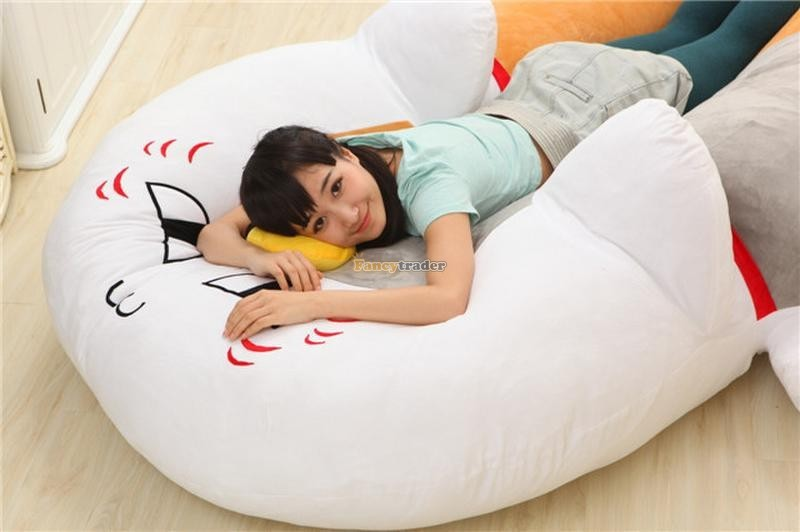 Fancytrader 210cm X 150cm Huge Giant Cute Cat Tatami Bed Carpet Sofa, Gift For Girls, Free Shipping FT90287 (7)