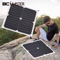 BCMaster 13W 6V Solar Panel solar cells DIY Battery Power Charge Sunpower Portable flexible monocrystalline silicon solar panels