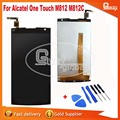 Original Quality for Orange Nura Alcatel One Touch M812 M812C M812F LCD Display+Touch lcd screen Free Shipping Hot Selling