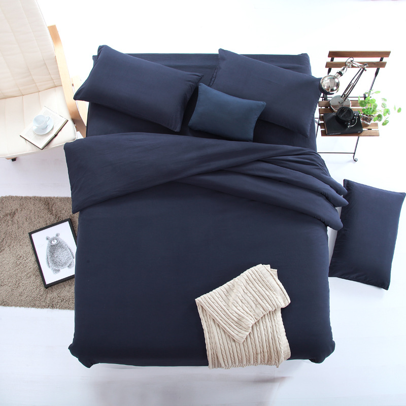 4 Piece Duvet Cover Set Bedding Queen with 2 Pillow Shams - Hotel Quality Comfortable, Breathable, Soft and Extremely Durable