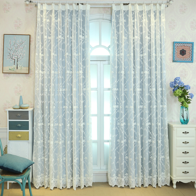 SunnyRain 1 Piece Double Layer Princess Blackout Curtains For Bedroom Curtain Drapes Living