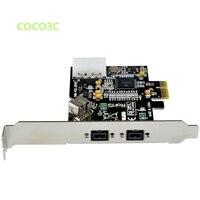 2 1 Ports 1394B PCI E Card External Firewire 800 IEEE 3 Ports 1394 B PCI