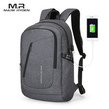 Mark Ryden Multifunction USB Charging Backpack Can Fit 15.6 inch Laptop Student Male Bag Mochila(China)