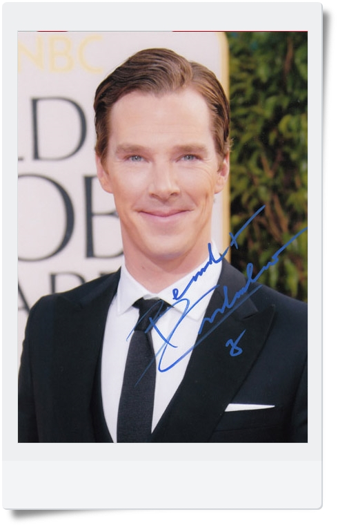 signed Benedict Cumberbatch autographed  original photo 7 inches 6 versions chosen  freeshipping  092017 got7 got 7 jb autographed signed photo flight log arrival 6 inches new korean freeshipping 03 2017