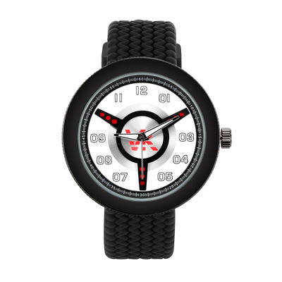 Ultrathin hot style triangle three-dimensional surface of vitamin k men quartz movement watch silicone wrist tire belt embroidery basis book 500 kinds of three dimensional embroidery patterns