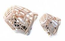 NEW Plastic Pet dog Adjustable Basket Protection Mask Mouth Cage Large free shipping