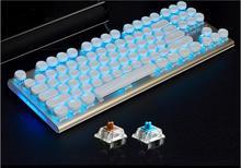 Ak40 Механическая игровая клавиатура одноцветное Цвет подсветкой nkrollover Эргономика многофункциональных клавиш MX коммутаторы