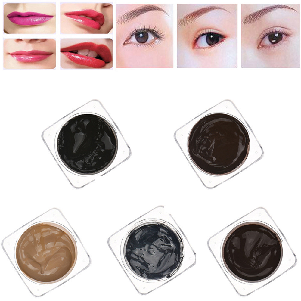 PCD Microblading Pigment Permanent Makeup Eyebrow and Lip Tattoo Ink Makeup Beauty Tool Free Shipping Wholesale Dec 5 9