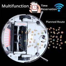 робот пылесос с 1200 PA Мощность всасывания беспроводной пылесосы циклон моющий вакуум для тонкий ковер деревянные полы mop Wi-Fi Подключение запланированного маршрута мини доставка из россии химчистка Doramach FRV8