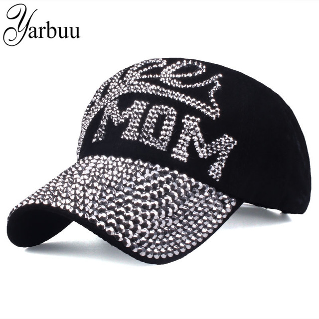 YARBUU  Baseball Caps 2017 new top fashion Rhinestones Jean hat Denim Cap  Snapback summer Hats hip hop Wholesale free shipping 8ff424cf7ddd