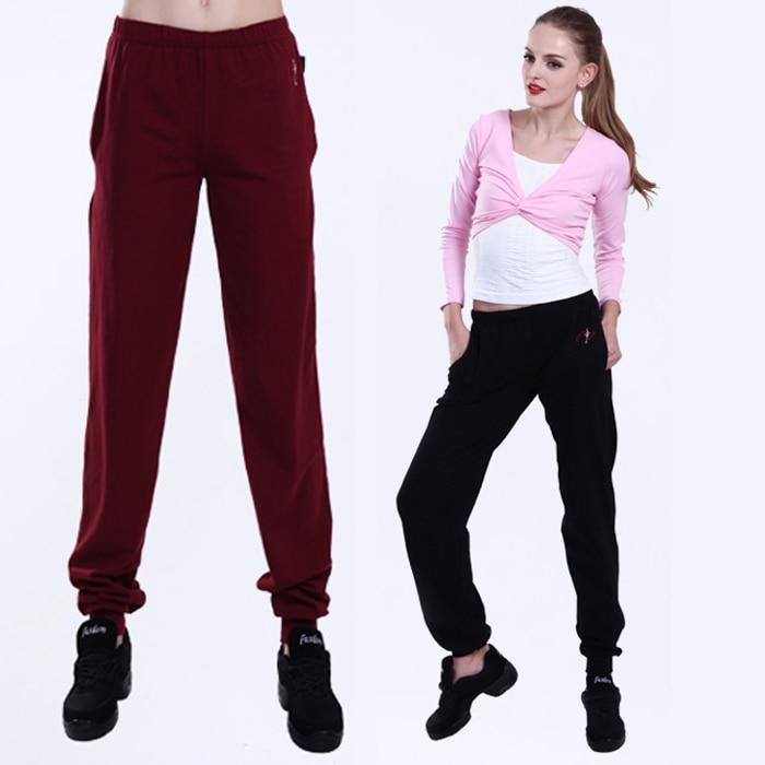 M-4XL plus size Donne Harem Yoga pant Modale Danza Pantaloni autunno  Perdono generale Largo delle donne di sport pantaloni donna XC-5220 6d8b87d424f