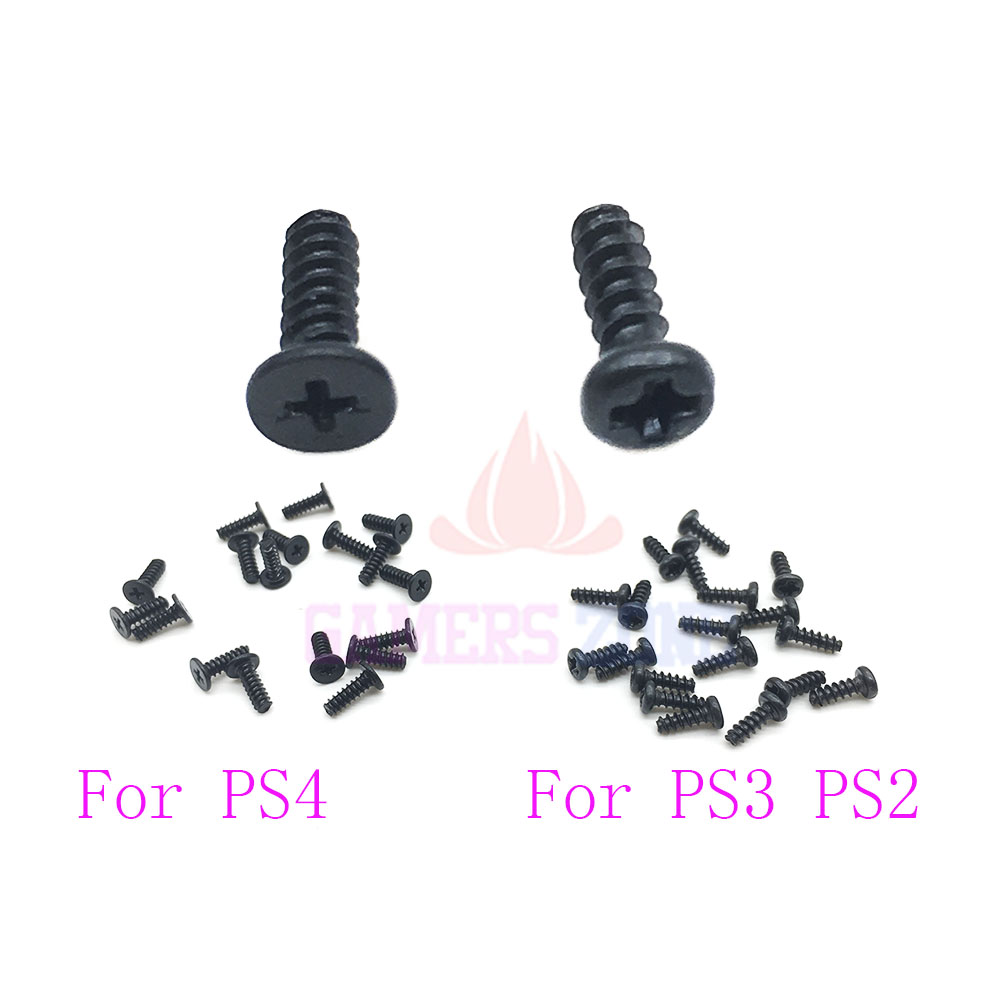 20pcs ~200pcs For Sony PS3 PS2 PS4 Controller Philips Head Replacement Screw Set Screws