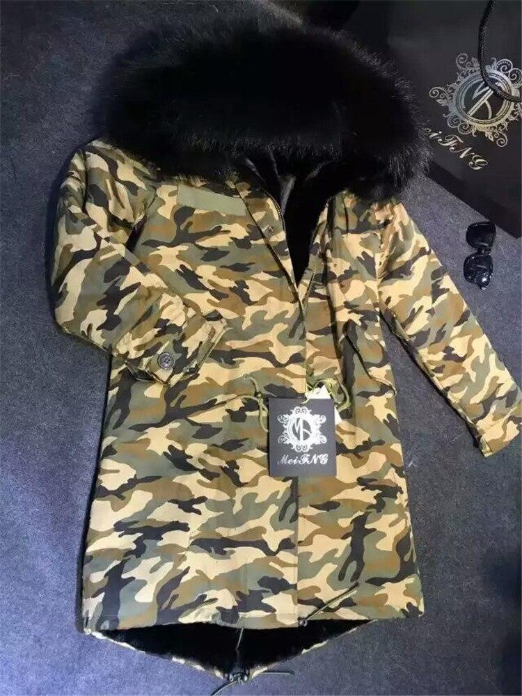 Wasbeer bont leger jas