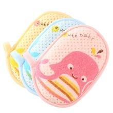 Escovas de Banho Dos Desenhos Animados Da Criança Do Bebê Do Algodão puro Esponja Bolha Escova Bath & Shower Produtos Para Bebe