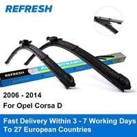 Car Wiper Blade For Opel Corsa 26 16 Rubber Bracketless Windscreen Wiper Blades Wiper Blades Car