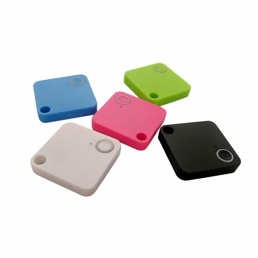 Домашние животные Смарт мини gps трекер анти-потеря кражи прибор для сигнализации Автомобильный мотор Bluetooth кошелек ключи сигнализация локатор в реальном времени Finder устройство