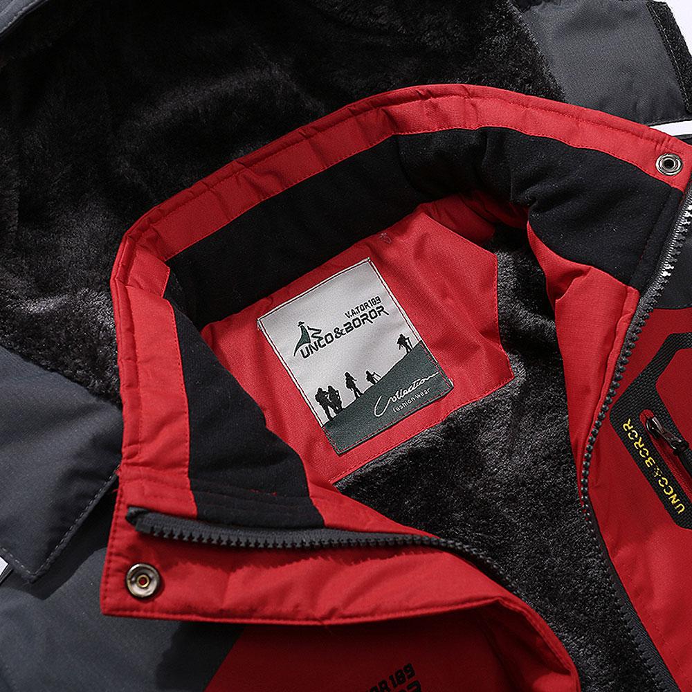 9987b34429879 Hombres de invierno chaqueta de abrigo polar hombres Outwear caliente ropa  deportiva marca abrigos Parkas mujer rompevientos impermeable hombre  chaquetas ...