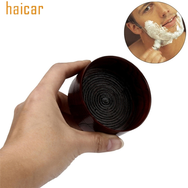 HAICAR ColorWomen Vintage Wooden Soap Bowls Mug Shave Bowl Cup For Men's Shaving Drop Shipping 170209