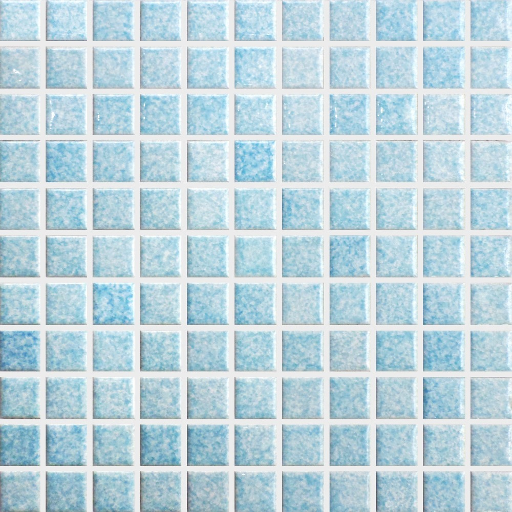 Green square ceramic mosaic tile kitchen backsplash tile bathroom ...