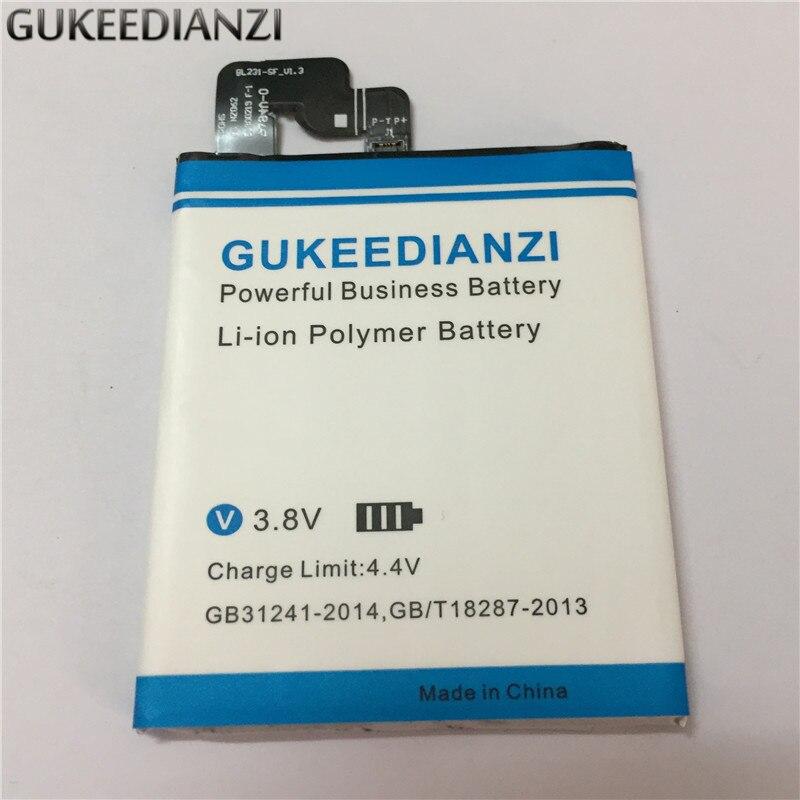 GUKEEDIANZI BL231 100% New Cell Phone Li-ion Polymer Battery 2300mAh High Capacity For Lenovo VIBE X2 X2-TO X2-CU S90 S90U S90T