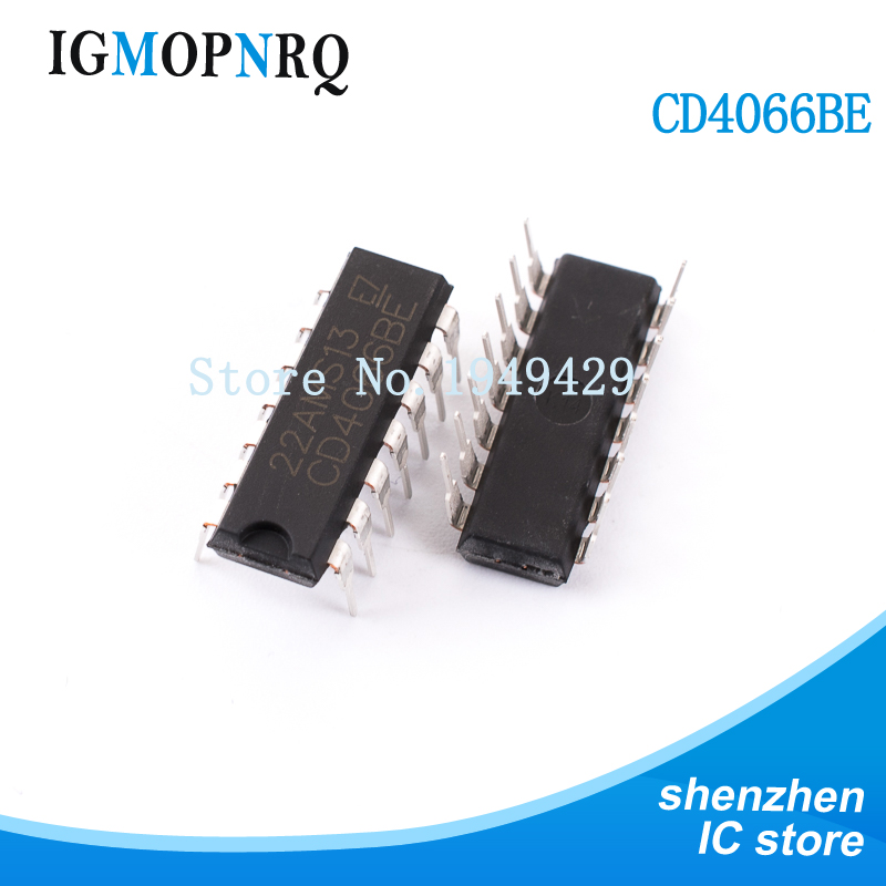 Free Shipping 10pcs/lot CD4066BE 4066 CD4066 DIP14 New Original