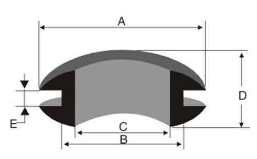 Shhworld Sea 1000 шт двойной размер внутренний диаметр 12 мм черные резиновые кольца