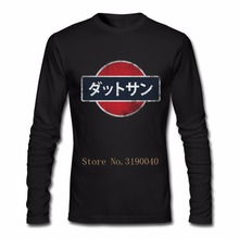 Fashion Streetwear Tee Shirt Datsun T Shirt JDM Family T-Shirt Men Long Sleeve Low Price Brand Men's T Shirts