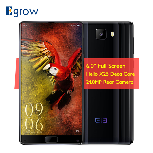 Original Elephone S8 Helio X25 Deca Core Smartphone Android 7.1 6.0'' 4GB 64GB 4000mAh 8.0MP+21.0MP Cam Fingerprint Cell phones