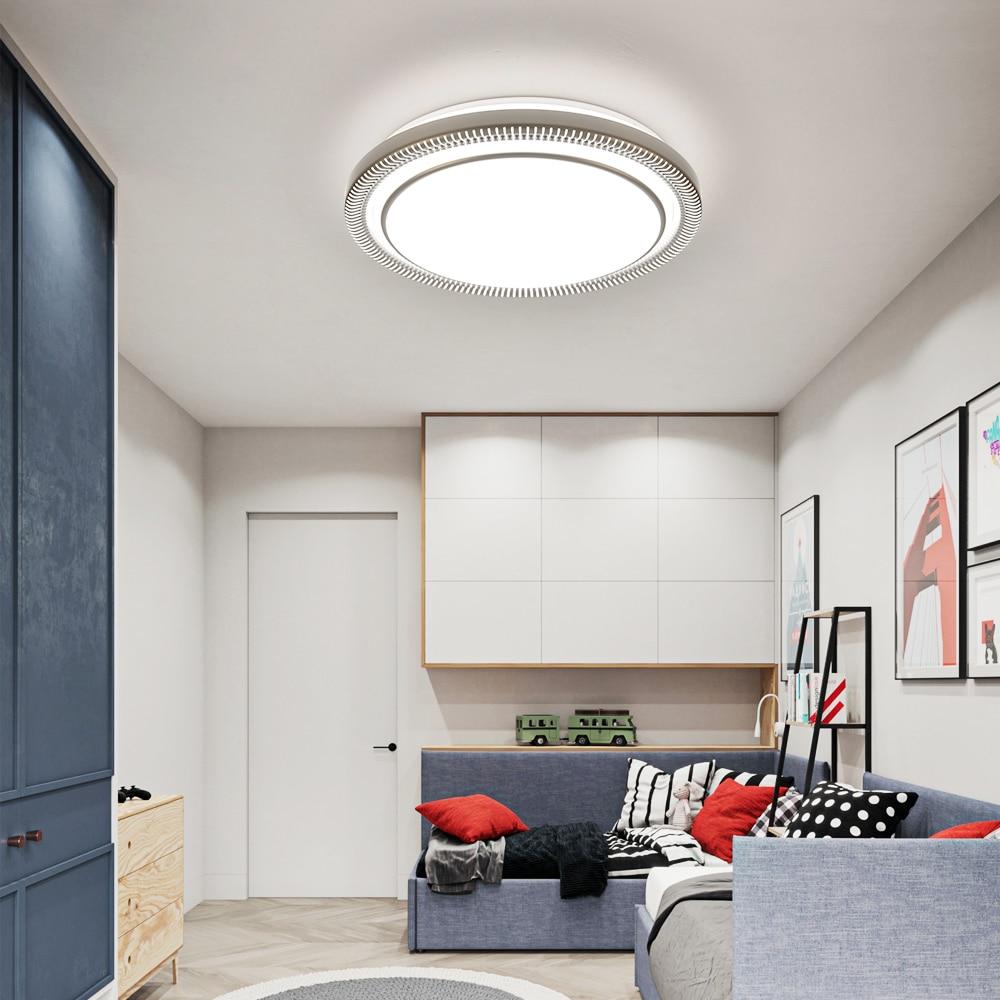 Moderne 220v 80w Ronde LED Plafond Verlichting Lampen Armaturen met Afstandsbediening voor Indoor Thuis Huis Woonkamer keuken Slaapkamer - 2