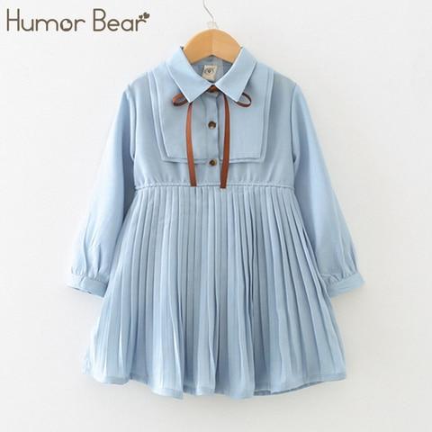 humor estudante da escola do urso do bebe meninas vestido de 2020 marca nova primavera