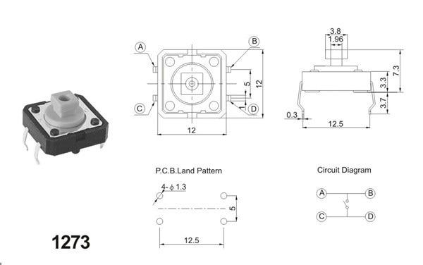 4 pin tactile switch wiring diagram auto electrical wiring diagram u2022 rh 6weeks co uk
