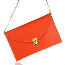 Fashion Hot Handbag Clutch Bag Wholesale And Retail Coin Purse PU Leather Inclined Shoulder bag Envelope Bags