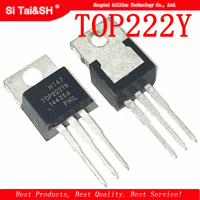 5pcs 10pcs TOP222YN New Genuine Power TO-220 Transistor TOP222Y