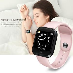 Image 3 - LIGE IP68 Wasserdichte Smart Armband Sport Fitness Tracking Blutdruck Herz Rate Monitor Smart Armband Schrittzähler uhr Männer