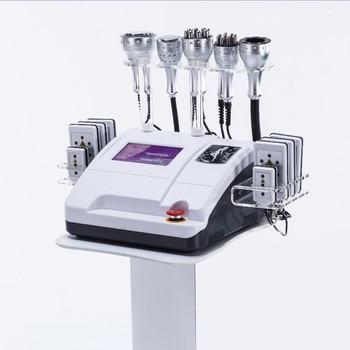 2019 newest 6 in 1 Lipo Laser+ Cavitation+RF+Vacuum/ RF 40K Cavitation Vacuum Lipolaser Slimming body weight loss