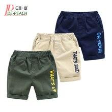 f56ad5095241e Shorts DE lettre DE mode d'été d'enfants DE pêche 2019 pour des garçons  pantalons décontractés d'enfants DE coton taille élastiq.